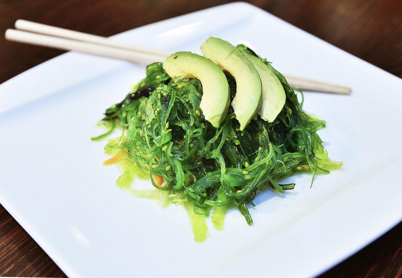 Wakamé algues