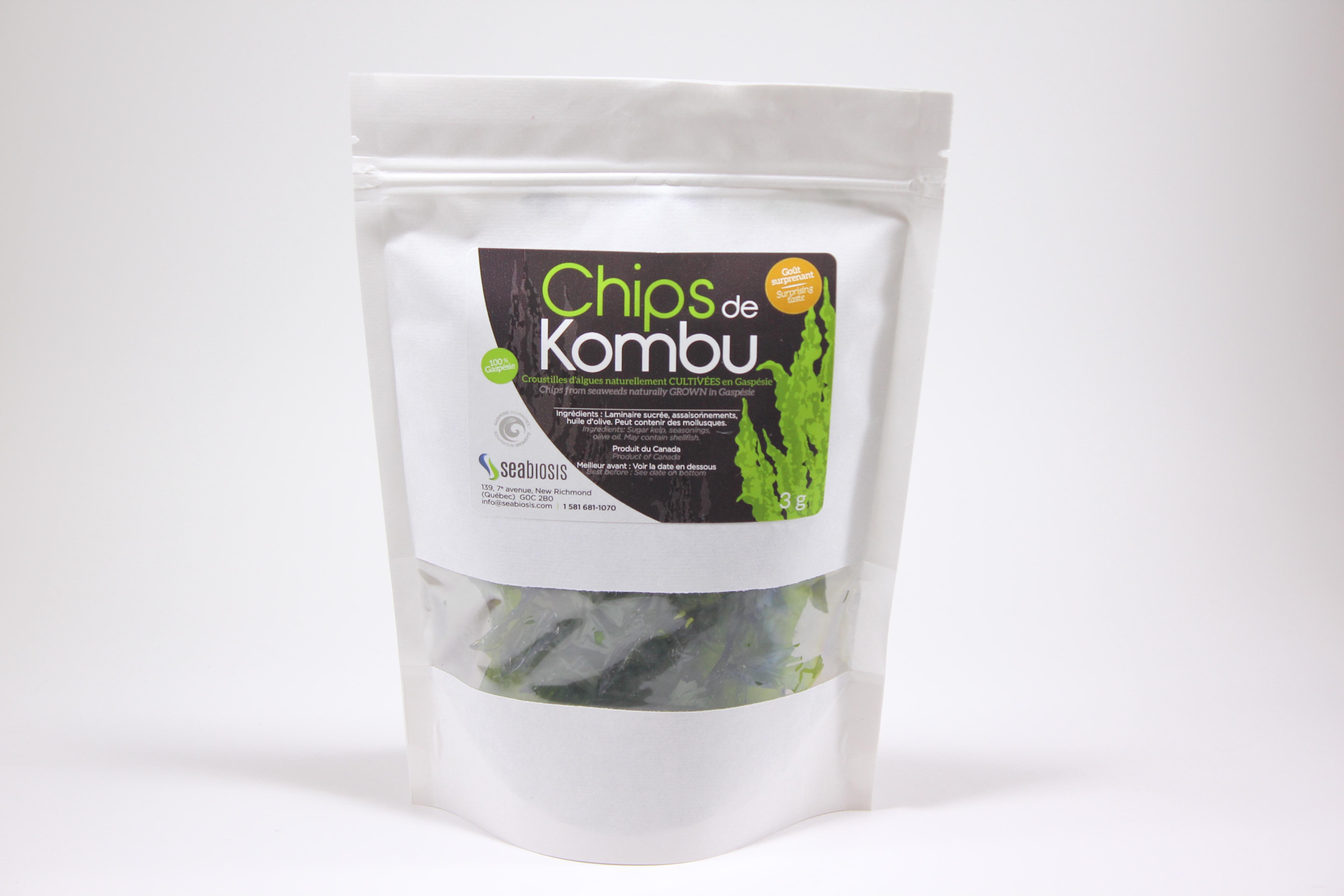 Kombu, Chips de Kombu