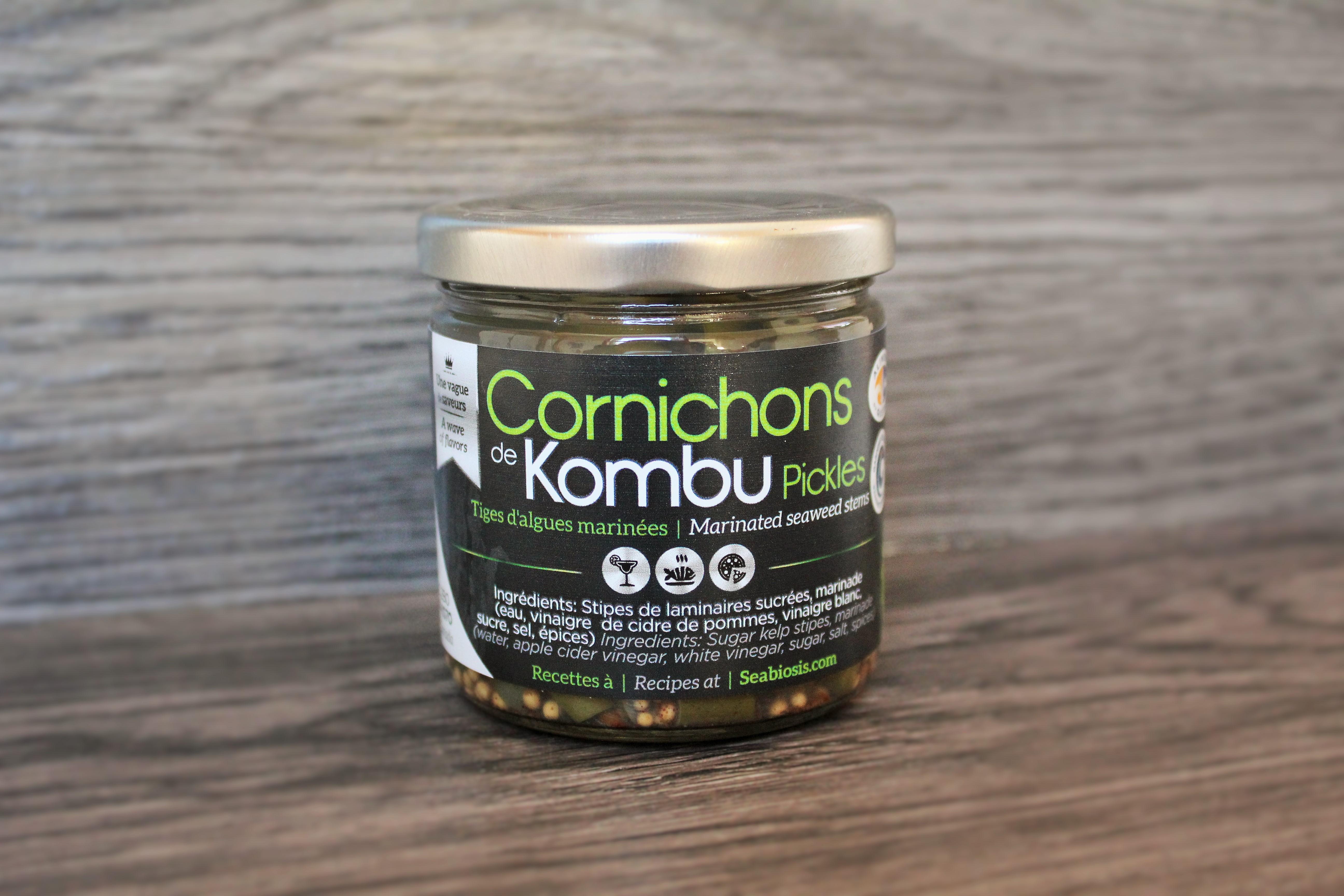 Cornichons de Kombu, Cornichons de Kombu