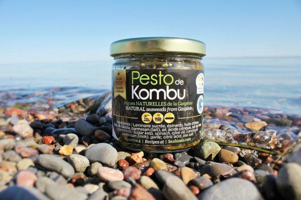 Pot de Pesto de Kombu sur la plage