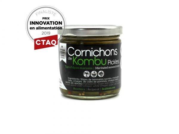 Cornichons de Kombu - Finaliste CTAQ