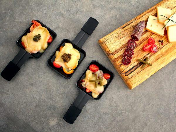 Raclette 3 façons -
