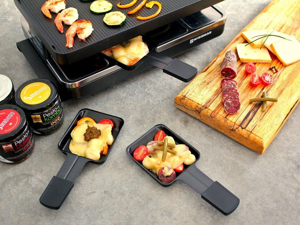 Raclette 3 façons
