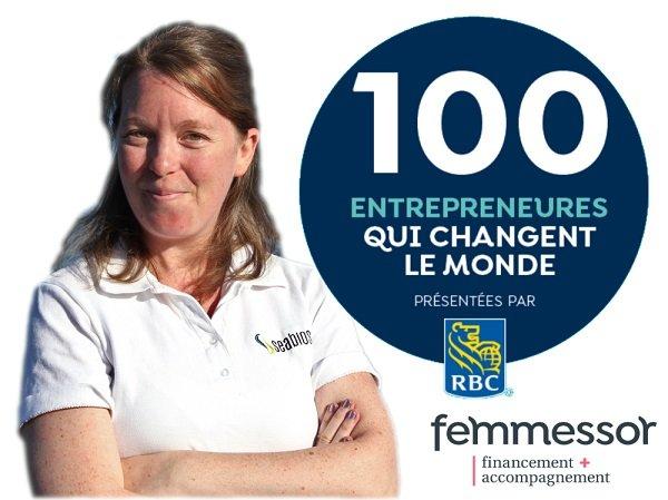 Elisabeth, une des 100 entrepreneures qui changent le monde