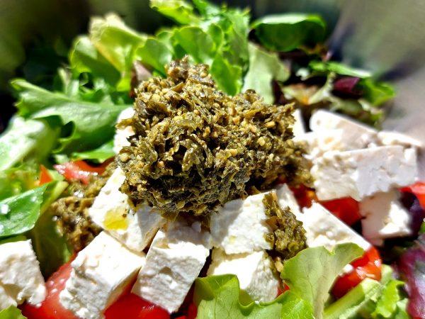 Salade au Pesto de Kombu Végan
