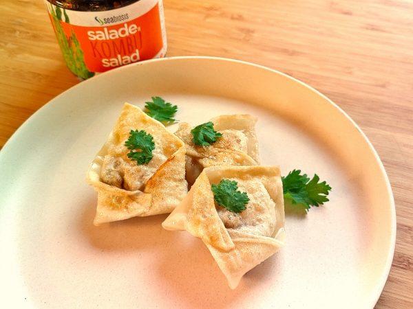 Dumplings à la Salade de Kombu
