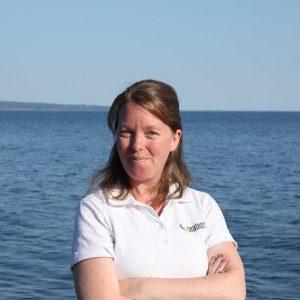 Elisabeth Varennes, la directrice générale de Seabiosis